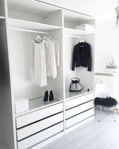Create More Space in Your Homes With Ikea Pax Closet Kids Bedroom Storage, Bedroom Closet Design, Bedroom Wardrobe, Closet Designs, Interior Design Living Room, Storage Room, Diy Bedroom, Bedroom Kids, Bedroom Inspo