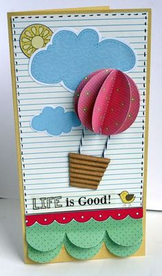 LOVE this card using SRM Life is Good stickers and Nikki Sivils papers.  Meu Deus... Q coisa mais linda!