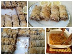 Bakina kuhinja - baklava sa lešnicima - YouTube