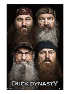 Duck Dynasty Beards Poster | Hot Topic