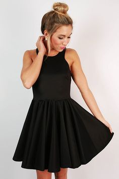 Crazy Beautiful Fit & Flare Dress
