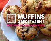 Encuentra las mejores recetas de muffins de frutos secos y chocolate de entre miles de recetas de cocina, escogidas de entre los mejores Blogs de Cocina.