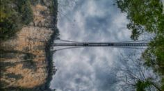 The Zhangjiajie Grand Canyon Glass Bridge Grand Canyon, Glass Bridge, Bridge Construction, Zhangjiajie, Bungee Jumping, Skydiving, Scuba Diving, Around The Worlds, Architecture