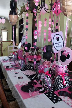Molly's Minnie Mouse Party