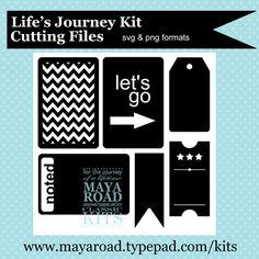 Free downloadable Digital Cutting files from Maya Road
