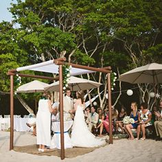 A simple and sweet @Four Seasons Resort Punta Mita, Mexico ceremony took place on the sand.