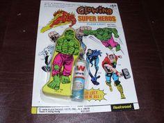 Vintage Incredible Hulk Flashlight Marvel Avengers Rare Super Hero New MOMC 1976 | Collectibles, Comics, Bronze Age (1970-83) | eBay!