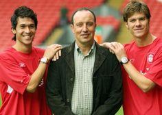 Rafa signs Luis Garcia & Xabi Alonso