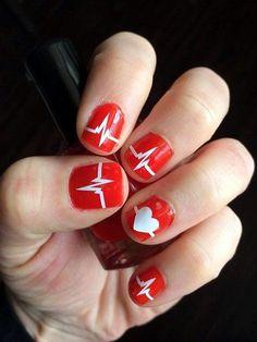 Diseños de Uñas para San Valentín 8