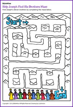 Joseph-maze