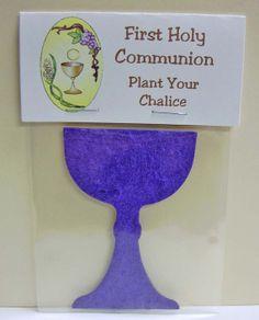 Wildflower Chalice Communion Favor Handout by TenderSeedCompany, $1.65
