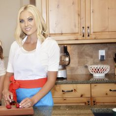 Get Flirty in the kitchen with our Women's Kenzie Steamy Sunset Apron. www.flirtyaprons.com