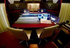 Studios, Corner Desk, Decor, Acoustic, Corner Table, Decoration, Decorating, Deco