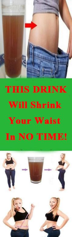 This Drink Will Shrink Your Waist In NO TIME!