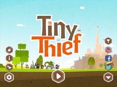 Tiny Thief Main Menu: screenshots, UI