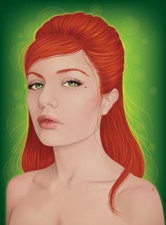 Create a Backlit, Elegant Female Portrait in Illustrator – Vector Premium Tutorial   Vectortuts+