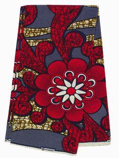 Tissu imprimé africain par le tissu Ankara Cour par par Shopafrican