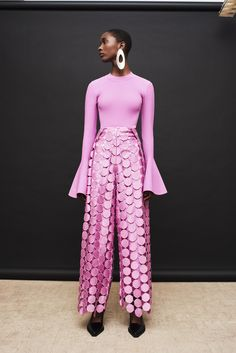 Hallie Trouser Lilac - View all Bold Fashion, Fashion 2020, Hijab Fashion, Perfect Pink, Colourful Outfits, Suits For Women, Dress Up, Circular Pattern, Street Style
