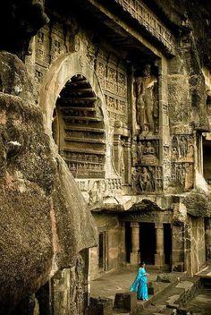 I tesori dell' #India centrale: le Ajanta caves, distretto di Aurangabad http://www.viaggidellelefante.it/RisultatiIt.php?idProp=1849&viaggio=i-grandi-tesori-dell-india-centrale