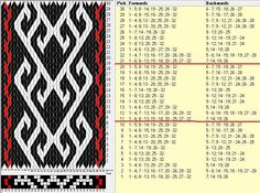 1000+ ideas about Tablet Weaving Patterns on Pinterest | Tablet ...
