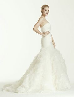 Bridal Gown by Truly Zac Posen for David's Bridal