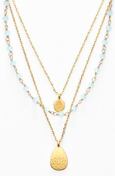 Satya Jewelry Beaded Layered Necklace (Nordstrom Exclusive) available at #Nordstrom