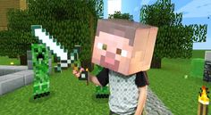 How to Make a Minecraft Steve Costume