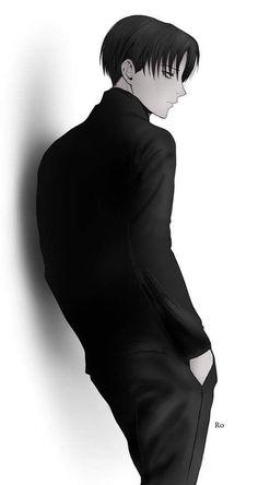 Levi Ackerman_Attack on Titan_Shingeki no kyojin Eren E Levi, Attack On Titan Eren, Attack On Titan Fanart, M Anime, Hot Anime Boy, Cute Anime Guys, Anime Eyes, Levi Ackerman, Ereri