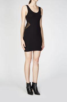LIBIDO DRESS JET BLACK