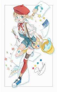 Learn To Draw Manga - Drawing On Demand Anime Girl Cute, Beautiful Anime Girl, Kawaii Anime Girl, Cute Anime Pics, Anime Art Girl, Anime Drawings Sketches, Kawaii Drawings, Manga Drawing, Cute Drawings