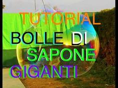 """Tutorial(02)-""""Bolle di sapone giganti""""-Strumento speciale e soluzione bolle di…"""