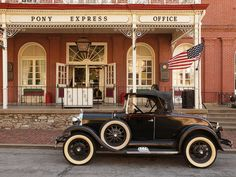 PONY EXPRESS @ Patee House Museum by FotoEdge, via Flickr