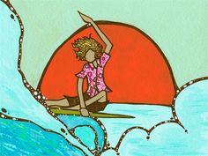 Andy Davis | #surf #illustration
