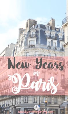 New Years in Paris -