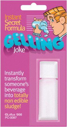 Gelling Joke