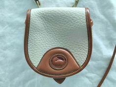 Dooney & Bourke Mini Purse Handbag All Weather Pebble Leather BONE IVORY Vintage | eBay Mini Purse, Dooney Bourke, Pebbled Leather, Purses And Handbags, Saddle Bags, Bones, Ivory, Weather, Best Deals