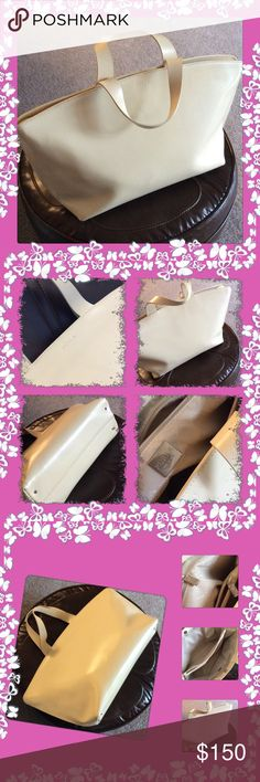 FURLABEUTIFULL purse Preowned in very good condition, with some signs of wearing, no damage or tears, color is off white, clean inside, with silver logo plate, made in Italy Furla Bags Satchels