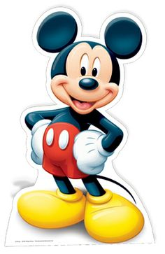 Life size stand up depicting Disney's Mickey Mouse. Great for any children's or Disney themed party. Item is a cardboard cutout.Please allow working days for delivery. We ONLY send these products with our courier PRIORITY service. Disney Micky Maus, Mickey Mouse 1st Birthday, Mickey Party, Mickey Mouse Clubhouse, Minnie Mouse Party, 1st Boy Birthday, Mickey Mouse Pictures, Minnie Mouse Images, Sticky Vinyl