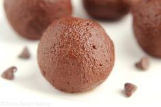 Dark Chocolate Pomegranate Truffles