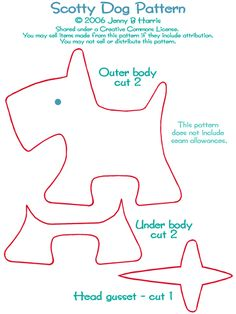 Scottie dog--this is a great pattern, easy...I have stitched several of these little cuties!