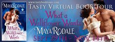 BOOK TOUR | WHAT A WALLFLOWER WANTS by Maya Rodale ~ Excerpt + Giveaway! http://thelustyliterate.wordpress.com/2014/10/29/book-tour-what-a-wallflower-wants-by-maya-rodale-excerpt-giveaway/