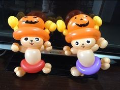 "His face is legs are body is you can use balloon for pumpkin hat, hope you""ll like it! 5 Balloons, The Balloon, Cow Hat, Balloon Cartoon, Pumpkin Hat, Bunny Hat, Happy Halloween, Party, Inspiration"