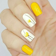 There are three kinds of fake nails which all come from the family of plastics. Acrylic nails are a liquid and powder mix. They are mixed in front of you and then they are brushed onto your nails and shaped. These nails are air dried. Flower Nail Designs, Nail Designs Spring, Nail Art Designs, Spring Design, Easter Nail Designs, Nail Art Ideas, Bright Nail Designs, Classy Nail Designs, Nail Art Kit