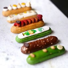 Cosmic Eclairs Httpwwwqlorecomcosmiceclairs Inspiration - Ukranian bakery creates eclairs so perfect eating them would be a crime