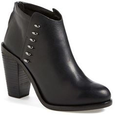 Black Leather Ankle Boots by Rag and Bone. Buy for $550 from Nordstrom