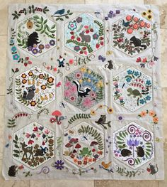I Finished My Woodland Whimsy Quilt A Couple Of Weeks Ago