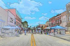 Downtown Lapeer Michigan by gerrybuckel, via Flickr