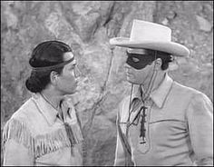 "The Lone Ranger and Tonto, 1949-57. Another great TV show. I remember that the Lone Ranger would always say, ""Tonto, go to town."" Then Tonto would go into town and try and find out what the bad guys were up to. He could do this because as an Indian, he was invisible to white men and could stand in the background and listen to them talking."