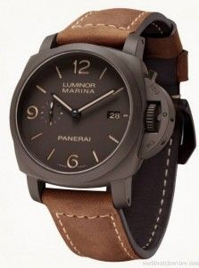 Panerai Luminor Composite 3 Days PAM 386 automatic watch in Ceramic