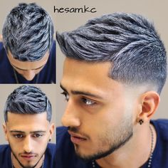 ✂︎ Mens Hair Styles 2017 ✂︎さん 「#متداستاپ  #hairstyles #haircolor #hair #haircut #hairstylist #hairstyle #barber…」